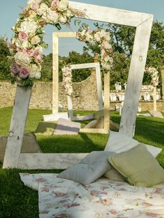 picnic wedding decor