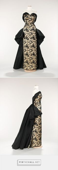 Evening dress by House of Balmain 1953 French | The Metropolitan Museum of Art