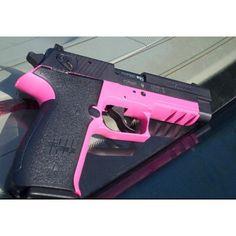 Kaycee loves this gun- Sig Sauer .22