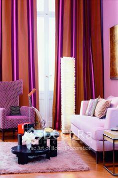 #colors #drapes www.decoradesign.ro