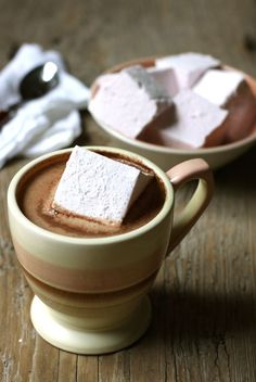 Homemade Marshmallows with four flavour variations (lavender, ginger, coconut and cherry).