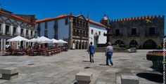 Viana do Castelo I had a bite at that cafe to the left!