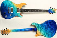PRS Private Stock Custom 22 #4092 in Beach Cross Fade