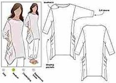 Style Arc Sewing Pattern - Kaye Tunic (Sizes 04-16) - Click for Other Sizes Available