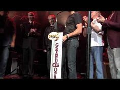 During the #AllForTheHall concert, Keith Urban was invited to become a member of the @Grand Ole Opry