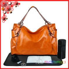 High quality leather nappy bag designer diaper bags hot sell