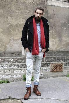 skinny white jean