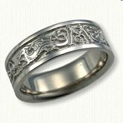 Celtic Dragon Knot Wedding Rings - custom celtic wedding rings @ best prices!
