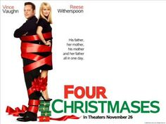 Christmas All Over Again by Tom Petty, Soundtrack from the Motion Picture: Four Christmases New Line Cinema, Warner Bros. Four Christmases . Vince Vaughn, Robert Duvall, Reese Witherspoon, Top Movies, Great Movies, Picture Movie, Movie Tv, Xmas Songs, Best Christmas Movies