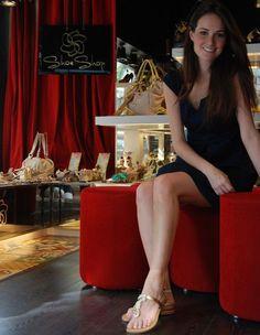 Priscila Machado já escolheu seu sapato de ano novo! Vem ver: