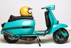 """To know more about Lambretta """"Blue Ashtray"""" by Marian Sell, visit Sumally, a social network that gathers together all the wanted things in the world! Featuring over 146 other Lambretta items too! Lambretta Scooter, Scooter Motorcycle, Scrambler Motorcycle, Vespa Scooters, Motorcycles, Best Scooter, Scooter Girl, Cafe Racer Girl, Motor Scooters"""