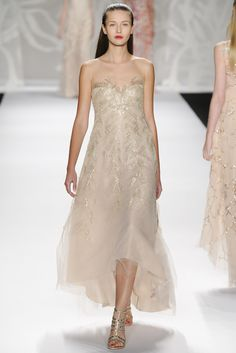 Sfilata Monique Lhuillier New York -  Collezioni Primavera Estate 2014 - #Vogue #nyfw #ss2014 #MoniqueLhuillier