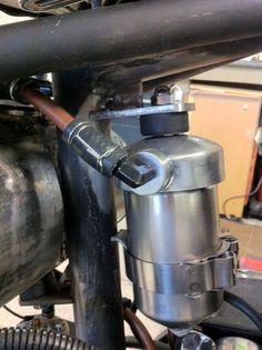 Harley Bobber Oil filter