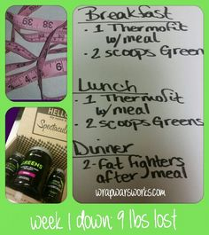 Success with it works triple threat 90 day challenge, week 1 complete, 9 lbs lost! !
