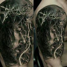 Resultado de imagen para tatuajes de jesus