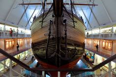 The Polar Fram in Oslo. Loved this place. You can go inside the boat and see all sorts of memorabilia.. I loved it!