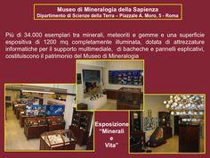 Apertura straordinaria del Museo di Mineralogia della Sapienza #ndm14 #ndm14italia #roma