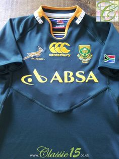 bf9c8cf02f9 Relive South Africa's 2011/2012 international season with this original Canterbury  home pro-fit