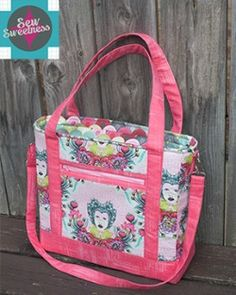 Welcome to another bag sewing pattern! I created this pattern for Pellon Projects, and it is intended for an advanced seamstress. It features leather handles and accent detailing on the front and side, as well as a top zip. There is a flap pocket on the front of the bag as well! I hope you'll enjoy …