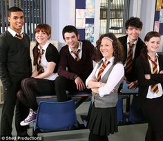 The show has been documenting the trials and tribulations of a troubled school in Rochdale, Greater Manchester for six years. But hit drama Waterloo Road is moving to Scotland at the end of the seventh series. The Dumping Ground Cast, Best Tv Shows, Movies And Tv Shows, Ackley Bridge, Moving To Scotland, Waterloo Road, Road Pictures, Bbc Drama, Rochdale