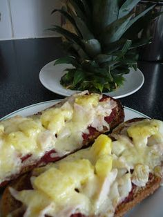 Breakfast Ideas - Day 6, Pizza on Toast