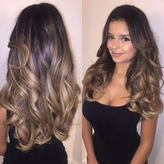 Soooo in love with my new hair! Thank you so much 💗 She took me from years of dying my hair jet black to this gorgeous blonde… Brown Blonde Hair, Brunette Hair, Cabelo Ombre Hair, Dying My Hair, Blonde Balayage, Balayage Color, Black Hair To Balayage, Gorgeous Hair, Gorgeous Blonde