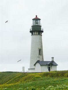 Yaquina Head Lighthouse, Oregon, USA  Fabulous Federal park.