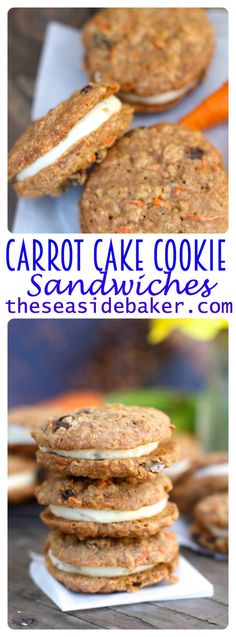 Who needs a whole cake when you can have the same delicious satisfaction in cookie form! Via @theSeasidebaker