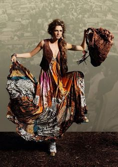 Brand New Camilla Franks Shoestring Tie Dress Marakesh Kaftan Range