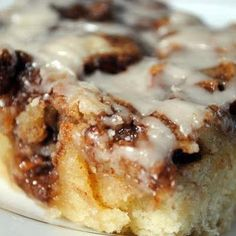 Cinnamon Roll Swirl Cake Recipe - going to try halving the recipe and baking in an 8*8