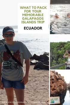 A guide for the must-have items and clothing for your trip to the laboratory of evolution: the Galapagos Islands, Ecuador New Seven Wonders, Spanish Speaking Countries, South America, Latin America, Just Dream, Galapagos Islands, How To Speak Spanish, What To Pack, Archipelago
