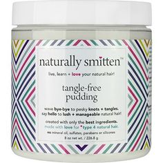 naturally smitten Tangle-Free Pudding - CurlMart