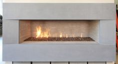 Maximus Linear Fireplaces from Isokern Fireplaces feature a sleek, modern, and luxurious design. Visit earthcore.com to include an Isokern fireplace in your home! Linear Fireplace, Custom Fireplace, North America, Indoor Fireplaces, Photo Galleries, Industrial, Outdoor Furniture, Luxury, Modern