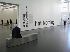 """""""I'm Nothing"""" at the Museum of Contemporary Art, Chicago. Photo (c) Angela Mack 2010 Museum Of Contemporary Art, Chicago, Artist, Photos, Color, Colour, Cake Smash Pictures, Artists, Colors"""