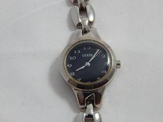 Vintage Ladies Quartz Wrist Watch Black Face by AlwaysPlanBVintage on Etsy