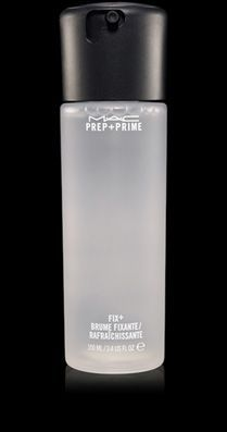 MAC Cosmetics: Prep + Prime Fix + This is a great way to help your make-up last all day. A mist before foundation (to create a smooth surface) and after all your make up is done (to set). So easy! $22