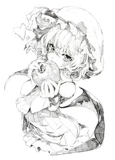 C: Remilia Scarlet - Touhou Anime Drawings Sketches, Anime Sketch, Manga Drawing, Manga Art, Art Drawings, Art Anime, Anime Art Girl, Manga Anime, Anime Girls