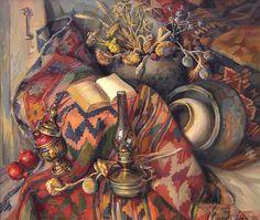 Хачатрян Меружан. Натюрморт с лампой