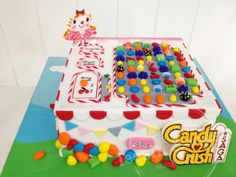 Candy Crush Cake by Lee Sin #candycrush