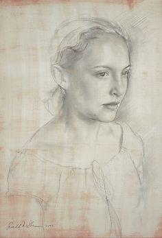 julio puentes - pencil portrait drawing sketch