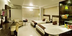 Lavish living facility at Hotel Bhairavee.