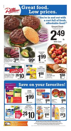 Dillons Weekly Ad October 28 - November 3, 2015 - http://www.olcatalog.com/grocery/dillons-weekly-ad.html