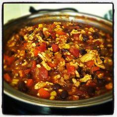 Chipotle BBQ Turkey Chili