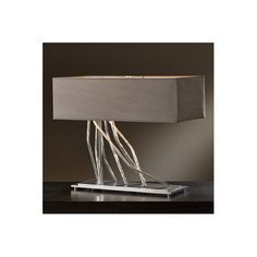 "Found it at AllModern - Brindille 16.7"" H Table Lamp with Rectangular Shade"