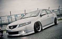 Honda Accord 3 .... looks like an Acura TSX to me ;)