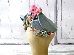 Antique Victorian Bonnet Tall Gable // All by SueEllensFlair