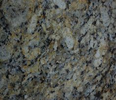 Giallo Napoleone granite, close up