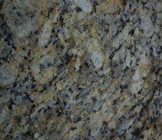 Giallo Napoleone granite, close up