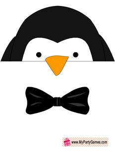 Free Printable Penguin Photo Booth Props