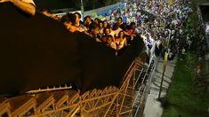 les escaliers du stade maracana ont la tremblote   Les escaliers du stade Maracana ont la tremblotte [video]   video stade Maracana football...